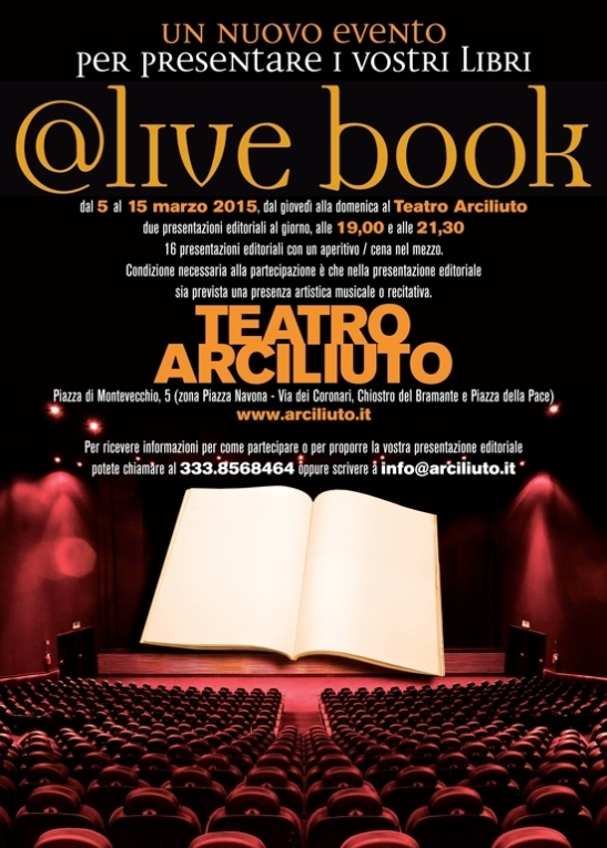 @live-book ORIGINALE LOCANDINA