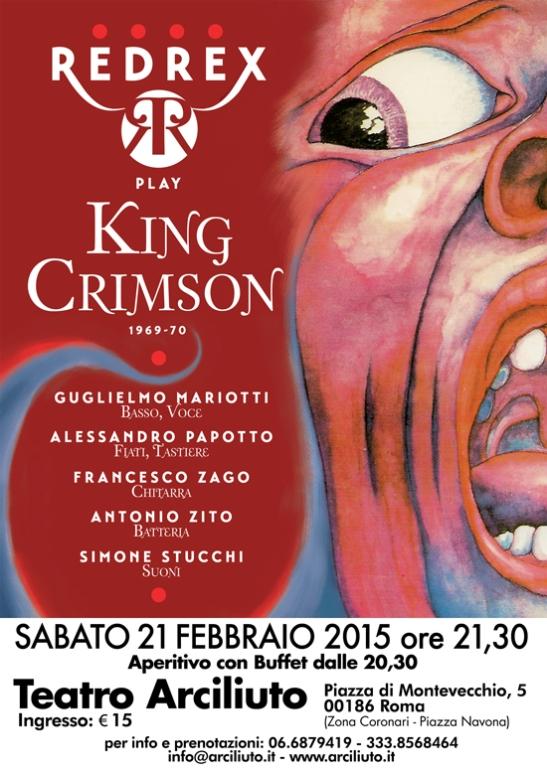 Redrex_play_King_Crimson
